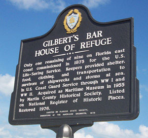 Gilbert's Bar House of Refuge, Hutchinson Island, Stuart FL