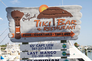 Tiki Hut Bar and Restaurant Fort Pierce FL