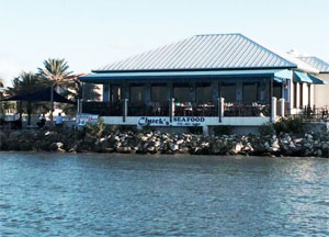 Chuck S Seafood Restaurant Hutchinson Island Fort Pierce Florida