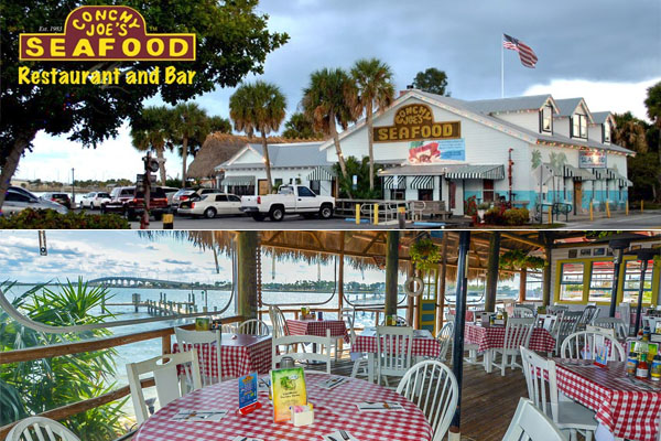 Conchy Joe's Seafood Restaurant & Bar Jensen Beach FL - Waterfront Dining, Live Entertainment and Music, Full Bar, Raw Bar
