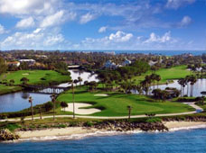 Golf Hutchinson Island Florida, A directory of Golf Courses and Golf Resorts on and around Hutchinson Island Florida including Jensen Beach Golf Courses, Stuart FL Golf Courses and Golf Courses in Fort Pierce