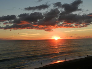 Sunrise on Hutchinson Island Florida