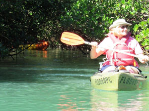Kayaking Hutchinson Island Florida