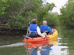 Motorized Kayak Tours, Hutchinson Island