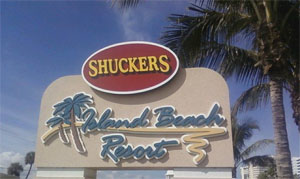 Shuckers, Jensen Beach on Hutchinson Island - Oceanfront Seafood Restaurant and Bar with Live Music