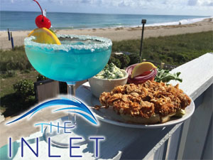 The Inlet, Ocean waterfront Restaurant and Bar, Hutchinson Island, Fort Pierce Florida