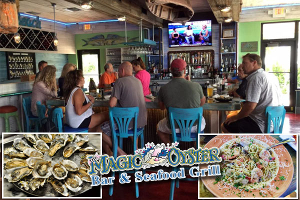 The Magic Oyster Bar & Seafood Grill! Jensen Beach, Hutchinson Island Restaurant and Bar