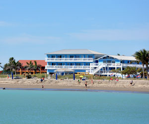 Beachfront Inn Beach Hotel Hutchinson Island Fort Pierce Florida
